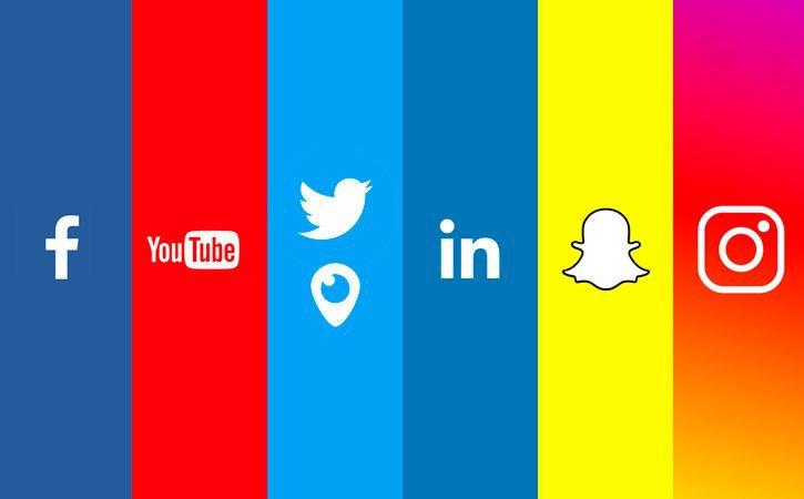 Principais Redes Sociais